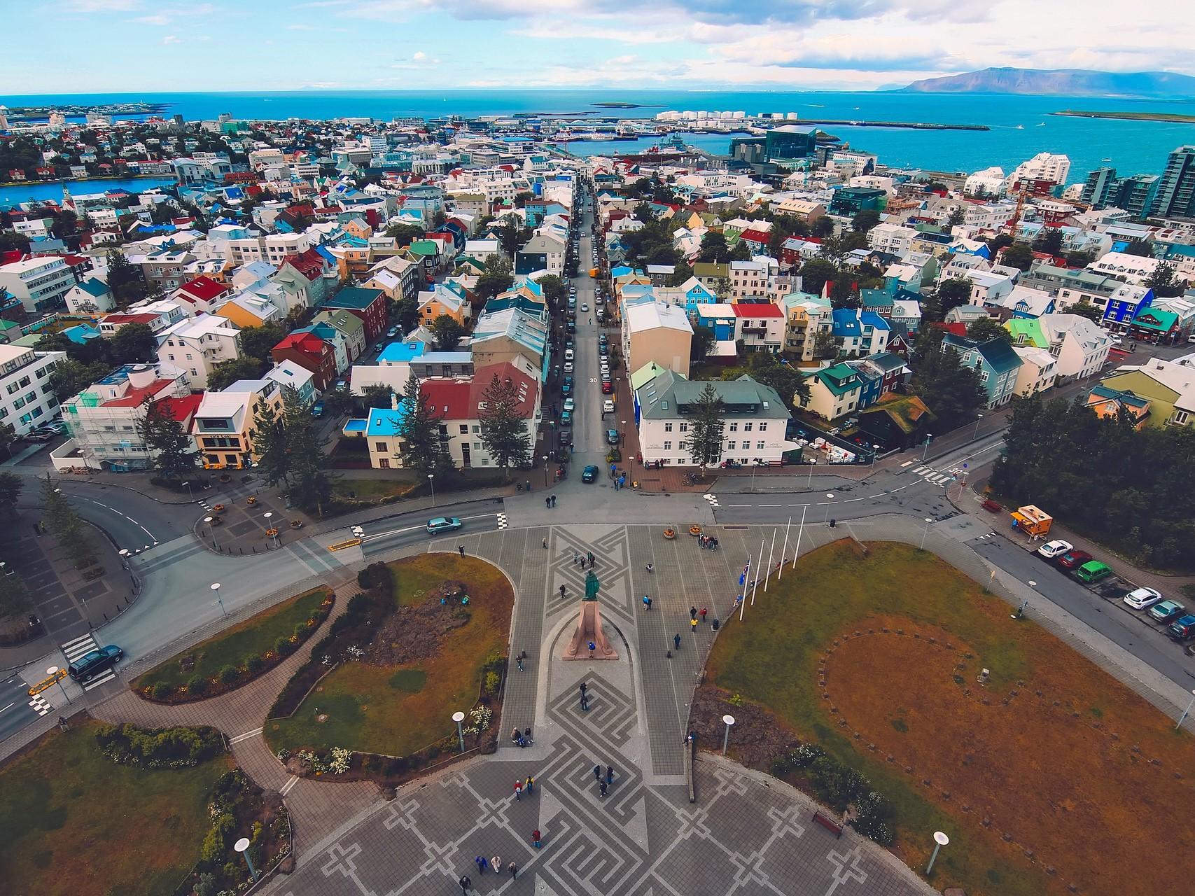 Reykjavik die bunte Hauptstadt Islands