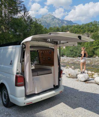 Die schönsten Stell- & Campingplätze in Slowenien