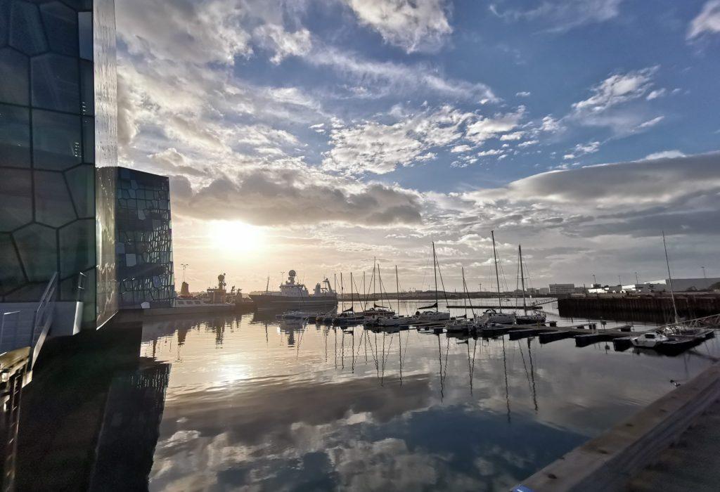 Der Hafen Reykjaviks