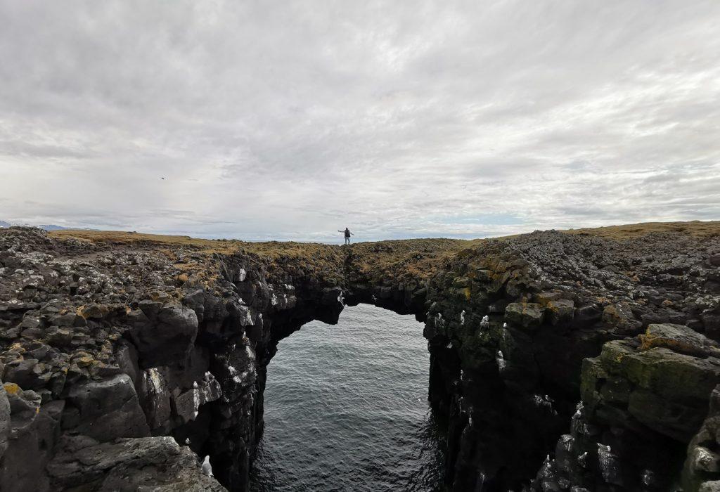 Stone Bridge Arnastapi