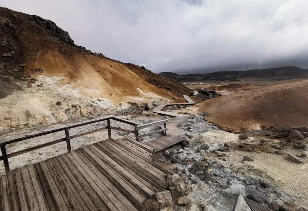 Vulkangebiet Krýsuvík