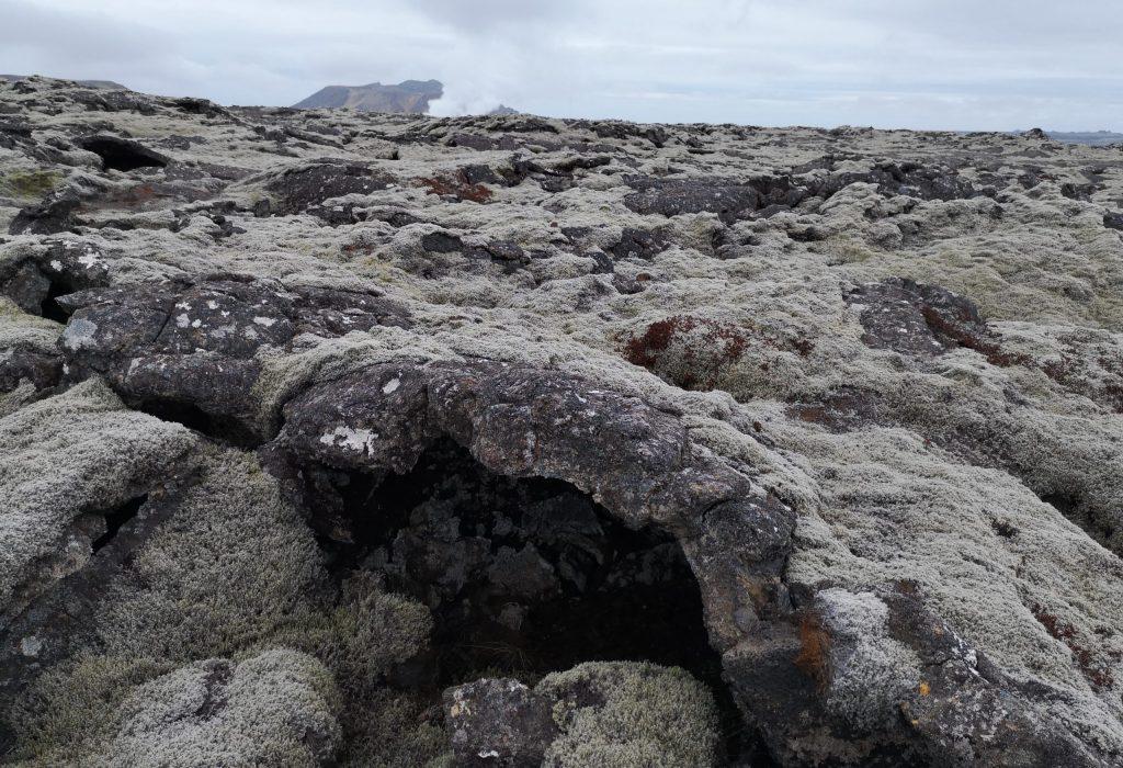 vulkangebiet island