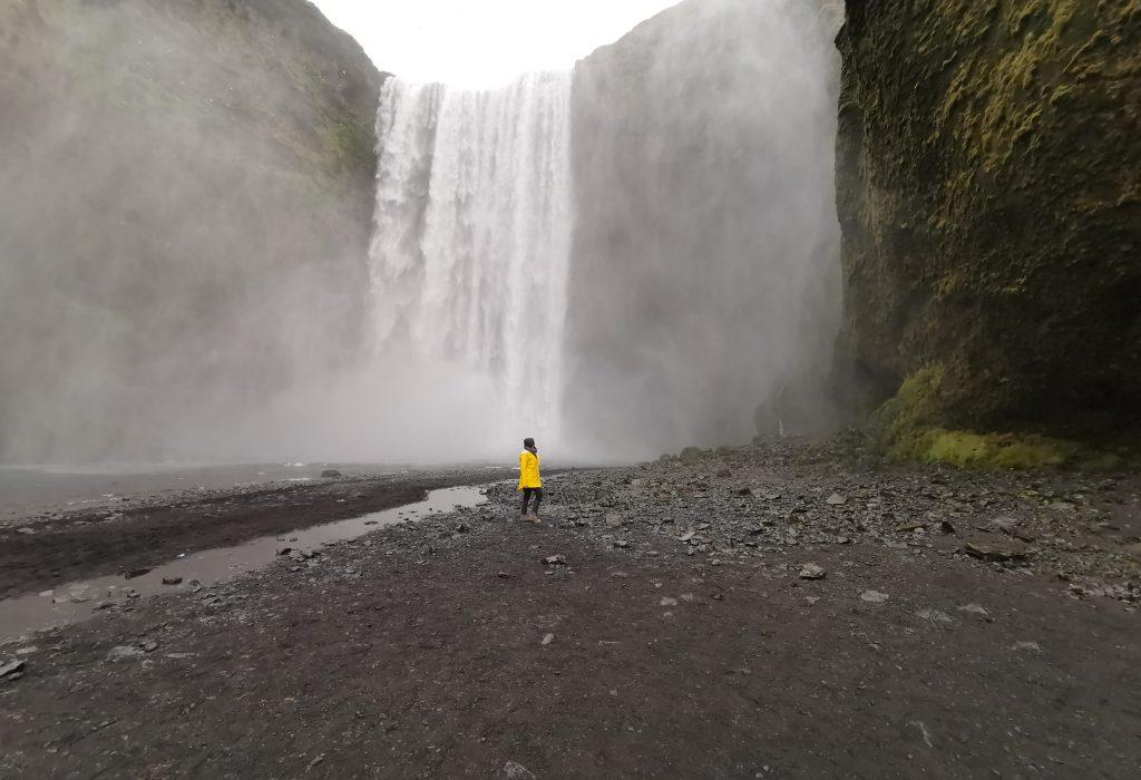 Skógafoss Wasserfälle