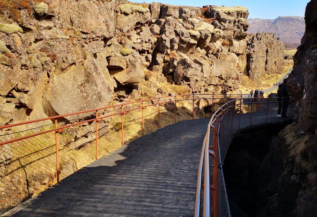 Wanderweg Thingvellir-Nationalpark